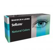 Bausch & Lomb Soflens Natural Colors mensuelles 2 lentilles de contact Bausch & Lomb -4.25 Polymacon I 1