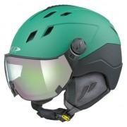 CP Corao+ skihelm groen met meekleurend vizier (4 Keuzes) - zeer veilig