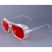Mickle Aviator, Clubmaster, Oval, Over-sized, Retro Square, Round, Spectacle , Wayfarer, Wrap-around Sunglasses(Red)