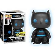 Figurina Funko Pop! Justice League - Batman Silhouette, fosforescent