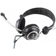 Casti cu Microfon Somic ST-818 (Negru/Argintiu)