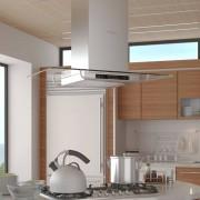 vidaXL Köksfläkt för köksöar LCD-skärm