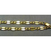 Zlatá retiazka vzor zrno žlté zlato VR45645