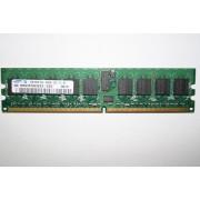 Samsung M393T2953CZ3-CCC 1GB PC2-3200 DDR2 SDRAM ECC 240 pin 1.8V 400MHz Dual Rank Registered DIMM Memory