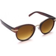 6by6 Round Sunglasses(Brown)