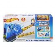 Set de joaca Hot Wheels - Track Builder Rev 'n Launch Challenge