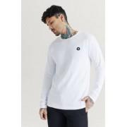 Wood Wood Långärmad T-Shirt Mel Long Sleeve Vit