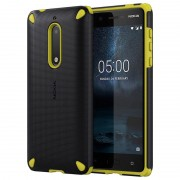 Capa para Nokia 5 - Rugged Impact CC-502 - Preto / Limão