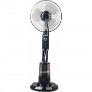 Ventilator cu pulverizare apa HAUSBERG HB 5600, Putere 90 W, Capacitate 3,2 l, 3 trepte de viteza, Timer 120 min, Telecomanda, Negru