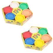 Combo of Funskool Play-Doh Mini Party Pack