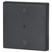 Capac Buton LED simplu - Antracit ^/v CWIZ-01/24-LED EATON