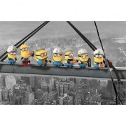 Minions Poster Minions Lunch on a sky scraper 61 x 91 cm - Action products