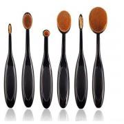 Set 6 pensule Ovale Profesionale pentru Make-up