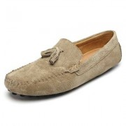 Fashion Suede Comfortable Rubber Flat Shoes