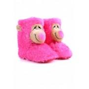 Детски домашни пантофи Пепи розово