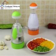 Tocator (Chopper) manual Multifunctional pentru legume si fructe