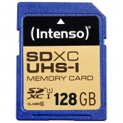 Intenso Premium SDXC-Speicherkarte 128 GB, Class 10 / UHS-I, U1