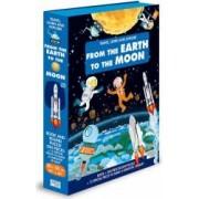 Cunoaste invata si exploreaza Sassi de la pamant pana la luna numar pagini carte: 14