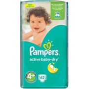 Scutece Pampers 4 Active Baby 9-16kg JB (62)