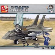 Sluban AIR FORCE-142PCS ( M38-B7200 ) (Lego compatible)