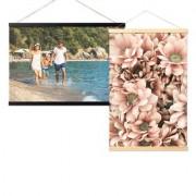 smartphoto Posterleiste magnetisch 60 cm Holz