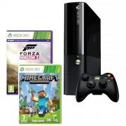 Consola XBOX 360 500GB + 2 Jocuri (Forza Horizon 2, Minecraft)