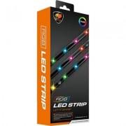 COUGAR ARGB LED STRIP, 15 LED Lights, 1.5W LED Power Consumption, Light strip, Only 5V RGB addressable lighting headers from com
