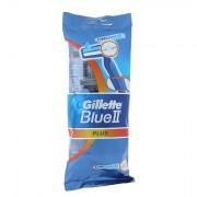 Gillette Blue II Plus 5 ks holítek se zvlhčujícím páskem 5 ks pro muže