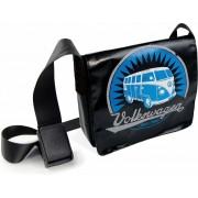 VW T1 Bus Tablet-PC Tas - Vintage Logo/zwart