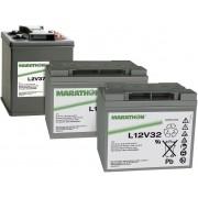 Acumulator plumb AGM 6 V, 179 Ah, (l x I x A) 309 x 223 x 172 mm, GNB Marathon XL6V180 NAXL060180HM0FA