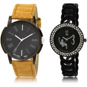 The Shopoholic Black Combo New Stylist Latest Black Dial Analog Watch For Boys And Girls Mens Casual Watches