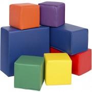 Best Choice Products BCP 7pc Soft Big Foam Blocks Play Set Sensory Gross Motor Developmental Skills