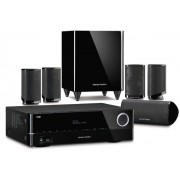 Sistem home cinema Harman Kardon HD COM 1619S, 5.1, 625W RMS (Negru)