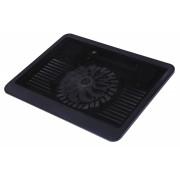 "Stand pentru Notebook 15.4"", un ventilator 140mm LED albastru, 1x USB, SPACER SPNC-N19"