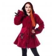 kabát dámský POIZEN INDUSTRIES - ALISON - RED - POI634