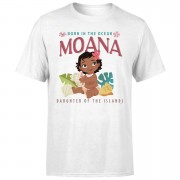 Moana Born In The Ocean Men's T-Shirt - White - S - White
