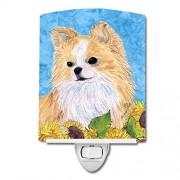 Caroline's Treasures Caroline 's Treasures Chihuahua en Flores de Verano luz de Noche, 15.2 x 10.2 cm, Multicolor