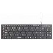 Tastatura Gembird KB-MCH-01, USB (Negru)