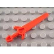 Lego Minifigure Weapon Red Greatsword