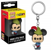 Pop! Keychain Disney Mickey's 90th Brave Little Tailor Pop! Vinyl Keychain
