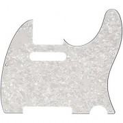 Fender Standard Telecaster Pick Guard (8-Hole) 4-Ply-White Pearl
