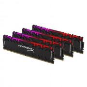DDR4, KIT 32GB, 4x8GB, 3600MHz, KINGSTON HyperX Predator RGB, CL17 (HX436C17PB4AK4/32)