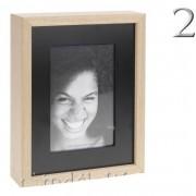 Fényképtartó asztali/fali 15x20cm-es vagy 10x15cm-es fotóhoz C37889800 2Féle - Fényképtartó
