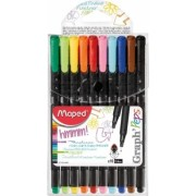 Set 10 culori Fineliner Graph peps Maped