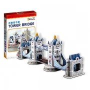 Puzzle 3D CubicFun CBFA Tower Bridge