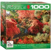 EuroGraphics Butchart Gardens Japanese Garden Jigsaw Puzzle 1000-Piece