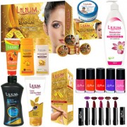 Adbeni Super Speciality Flash Skin Care Makeup Combo - Set Of 21 Pc-GC386