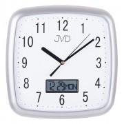 Zegar ścienny JVD DH615.1 26 x 26 cm Data Cichy mechanizm