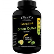 Sinew Nutrition Weight Management Combo 750mg (Garcinia Cambogia and Green Coffee Bean Extract) - 120 Pure Veg Capsules