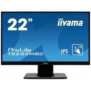 Monitor Iiyama ProLite T2252MSC-B1 22 inch 7ms Black